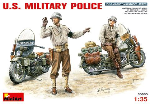 MiniArt - 35085  U.S. MILITARY POLICE