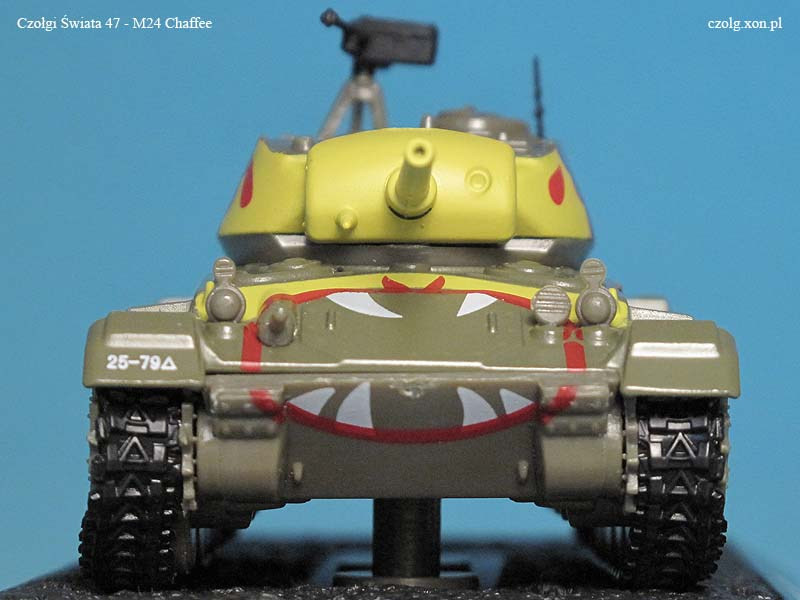 Czołgi Świata #47 - M24 Chaffe - Korea 1951