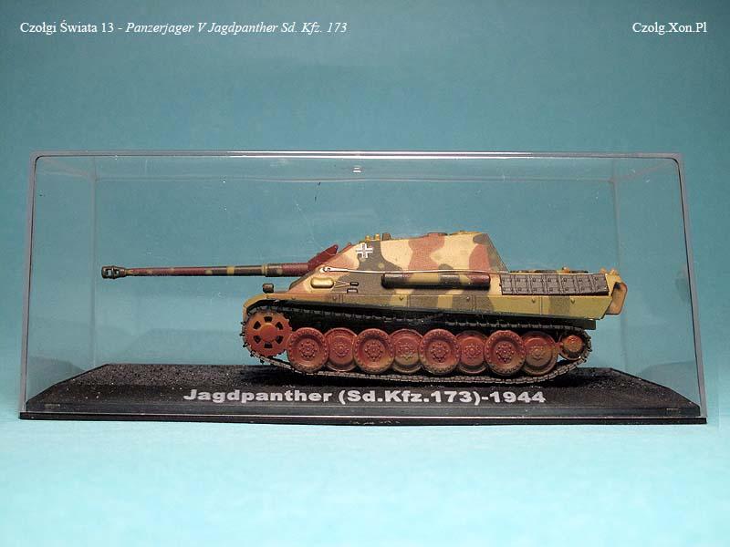 Czołgi Świata #13 - Jagdpanther Sd. Kfz. 173 - 1944 r.