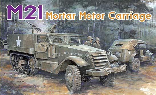 Dragon 6362 - M21 Mortar Motor Carriage