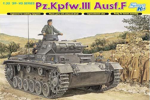 Dragon 6632 - Pz.Kpfw.III Ausf.F