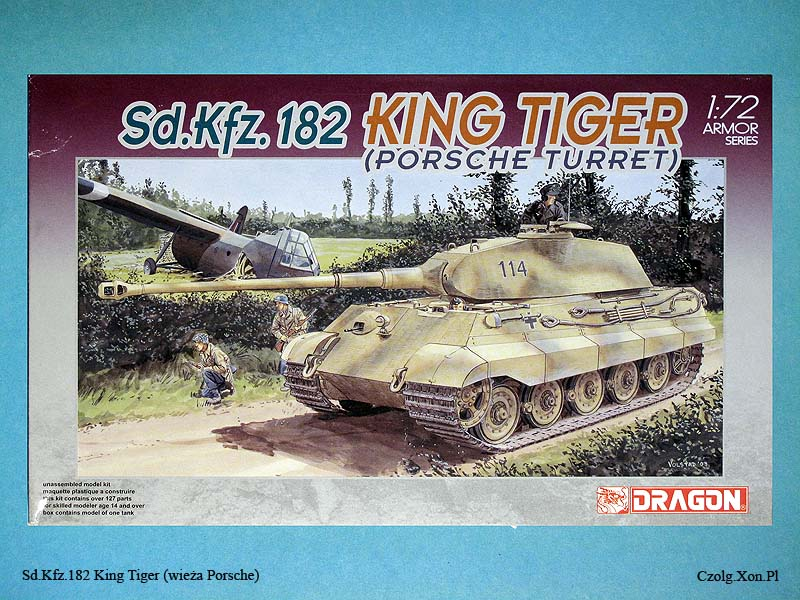Dragon 7231 - King Tiger Porsche Turrent