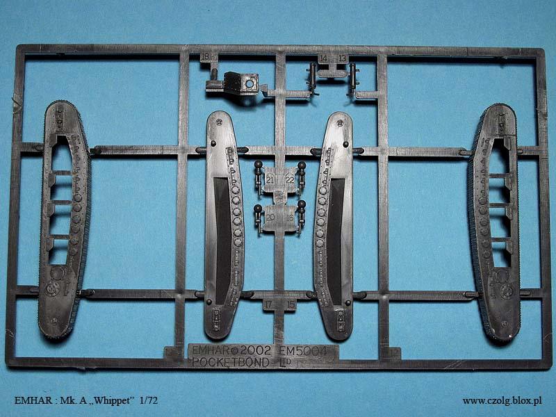 Mk. A Whippet - Emhar 1/72