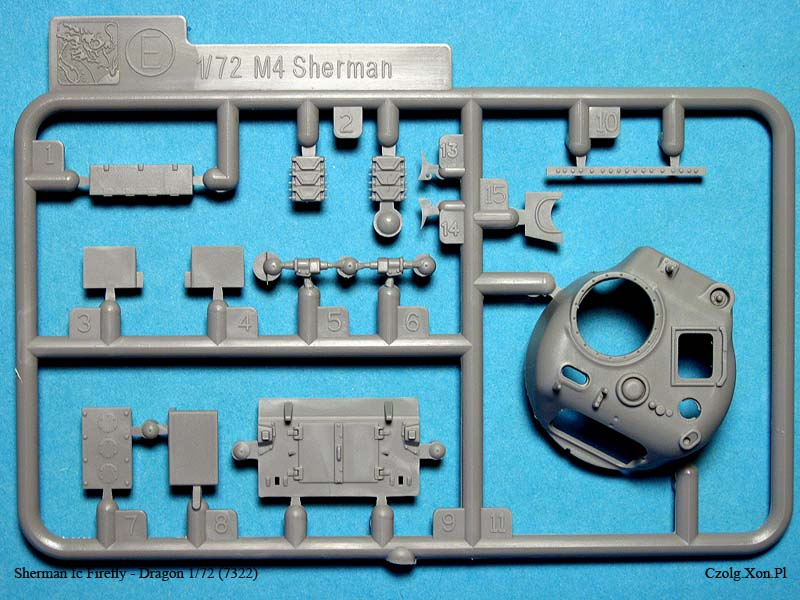 Sherman Ic Firefly - Dragon 1/72