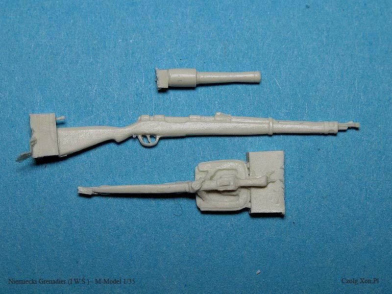 Niemiecki Grenadier z I W.Ś. - M-Model 1/35