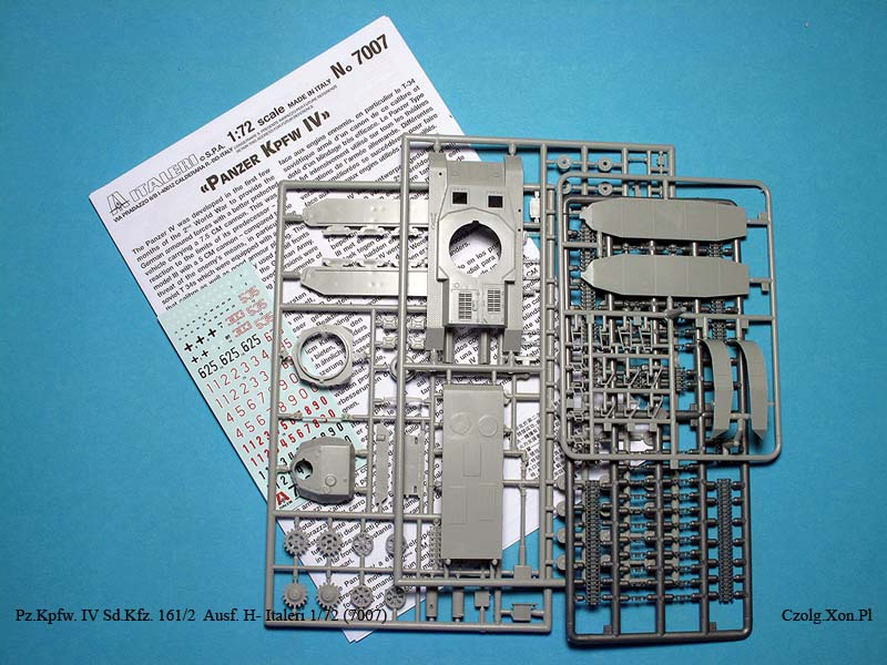 In-Box - Pz.Kpfw. IV - Italeri 1/72