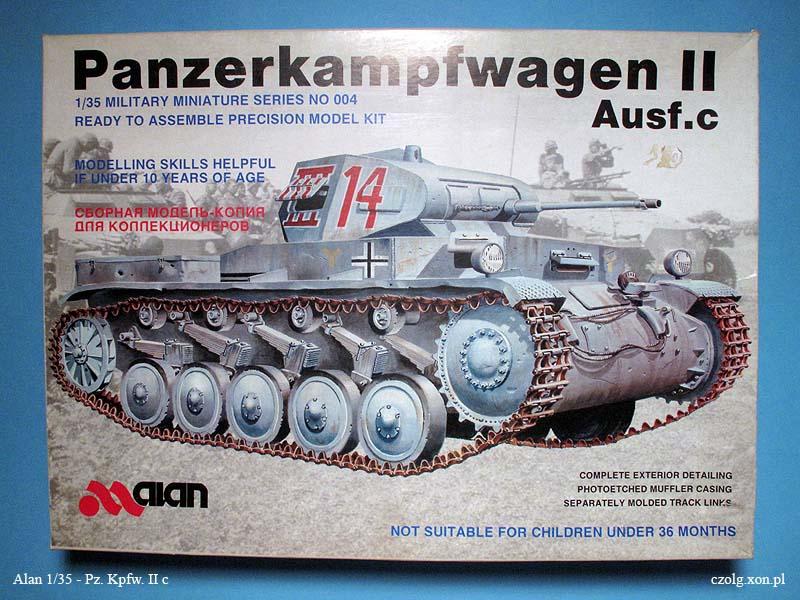 Pz.Kpfw. II c - Alan 1/35