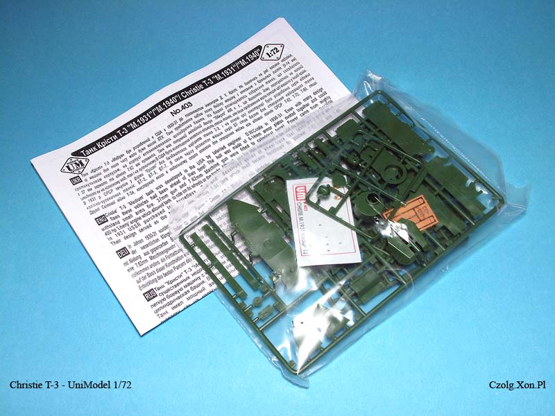 Unimodel 403 - Christie T3