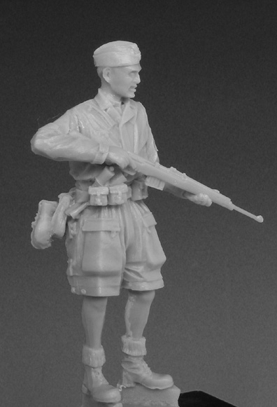 35002 German Paratrooper - Italy 1944