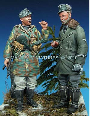 Mantis Miniatures - 35008 German SS set