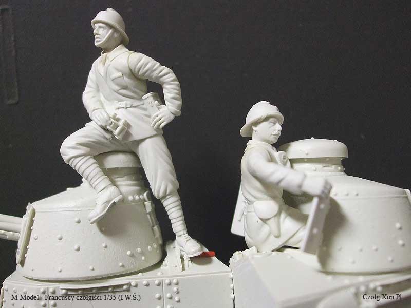 M-Model - Francuscy czołgiści 1/35