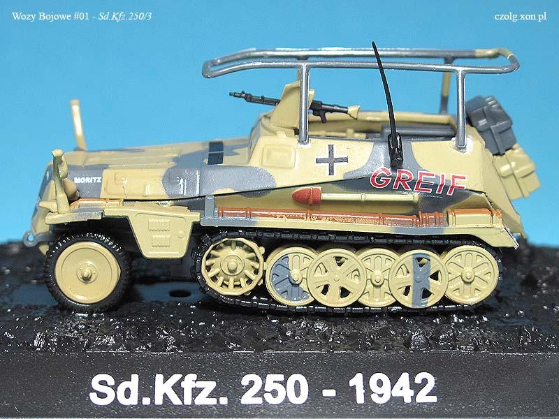 Wozy Bojowe #01 - Sd.Kfz. 250/30