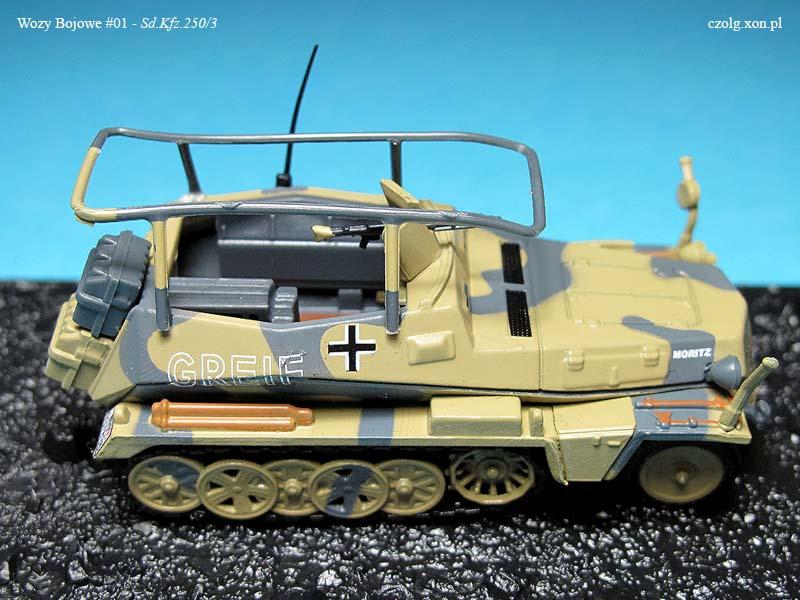 Wozy Bojowe #01 - Sd.Kfz. 250/3
