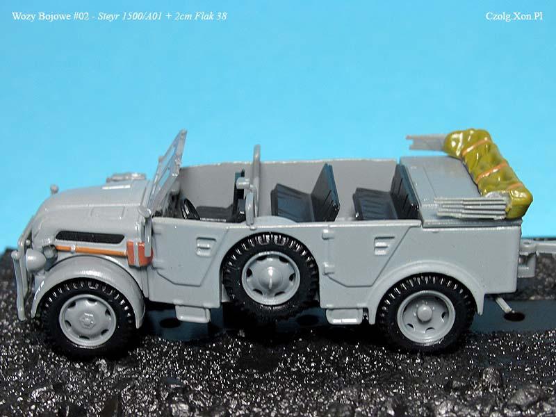 Kolekcja Wozów Bojowych Nr.2 - Steyr 1500